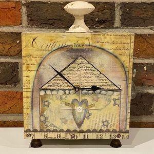 Lisa Kaus Ornamental Clock